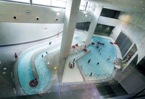 CRC, climbing wall, leisure pool