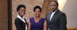 LLM Alumni Gwen Achu, Amanda Arigaba and Arnold Agaba